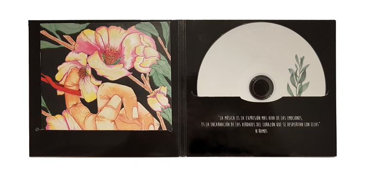Slimpack 2 ranuras para CD y libreto